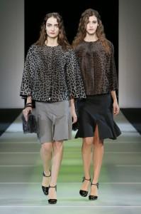 Giorgio Armani Womenswear FW1415 #2