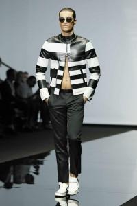 Emporio Armani Menswear SS15 #01