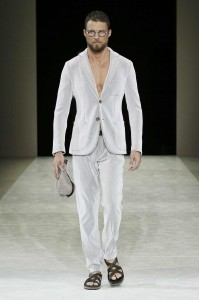 Giorgio Armani Menswear SS15 #9