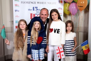 FlorenceWhiteNight_Marco Teso with kids in Mini Byte