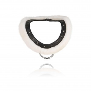 Aya Collar Rivet Mink 295 EURO_2200 DKK
